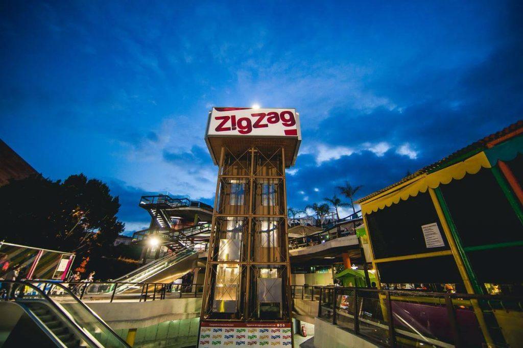 ZigZag centro de ocio de noche
