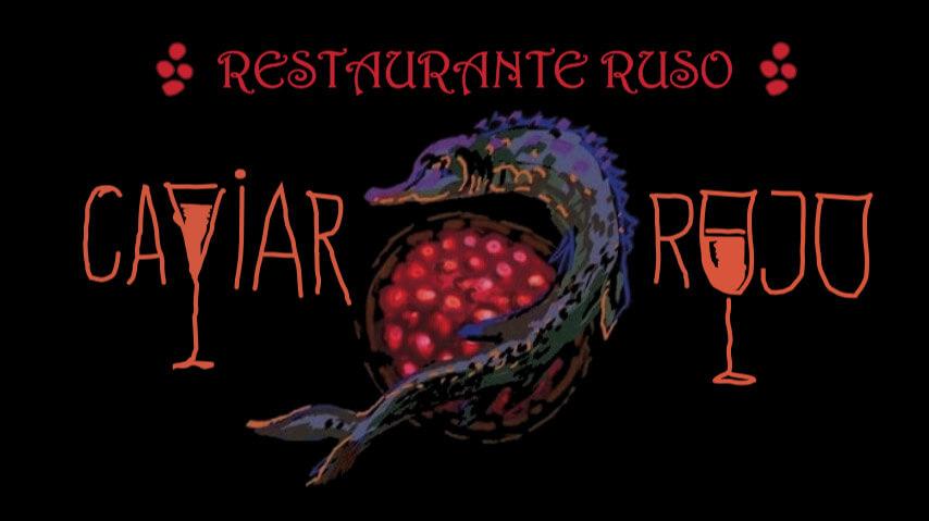Logo del restaurante ruso Caviar Rojo
