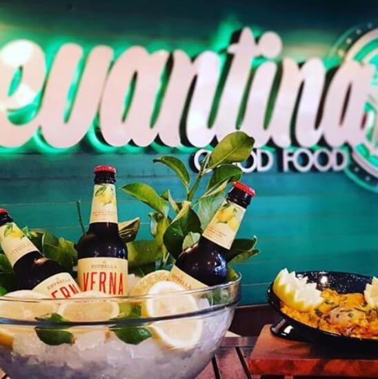 cervezas en Levantina